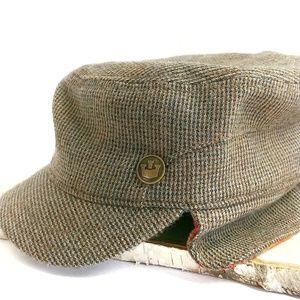 Goorin Bros Military Style Cadet Wool Blend Cap